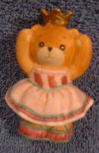 Sugar Plum Fairy bear in pink dress C7-2-7