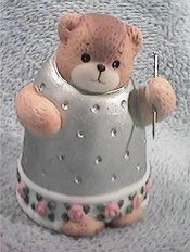 Bear as thimble G34-1-5 ^^^in box 6^^^
