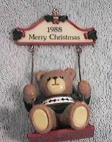 1988 boy in swing ornament H4-3-4 in box