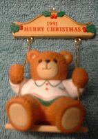 1991 boy on swing ornament in box H6-2-3