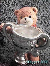 Bear with congratulations cup G26-1-1 ^^^&box 7, 11^^^