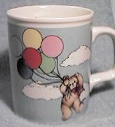 Bear with balloons mug U1-2-4