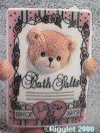 Bear as Bath Salts G33-1-6 ^^^in box 6^^^