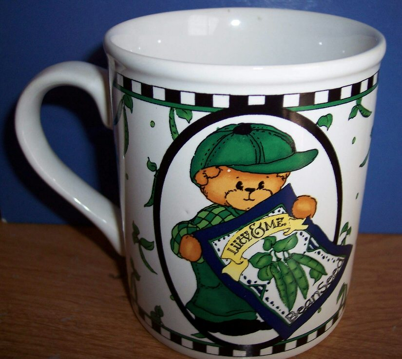 Bear with Bean Seeds Mug