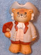 Benjamin Franklin Bear with kite G12-3-4 MIB *** and ^^^box 2^^^