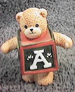 Bear as Christmas toy block C9-2-4 ^^^box 3^^^