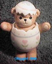 Boy Easter Egg Bear G6-1-5 ***