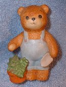 Boy bear watering plant G1-2-4