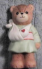 Bear with broken arm in sling G7-1-1 ***