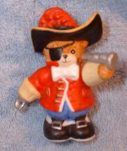 Captain Hook bear from Peter Pan series G21-1-6
