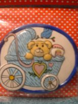 Baby Carriage Magnet MIP