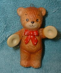 Bear with cymbals ornament H1-1-2