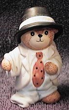 Bear dressed up in dad's clothing G12-2-2 *** MIB