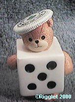 Best of Luck Dice Bear G29-2-1 ^^^in box 6^^^