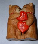 Bears hugging with hearts I love you, love you too G2-1-1 ***