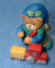 Elf bear painting toy train C8-3-1 box 11