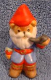 Gnome bear sitting in chair C7-4-4 - Click Image to Close
