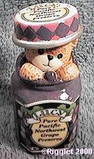 Lucy & Me Jar of Grape Preserves G30-3-5 ^^^in box 4^^^