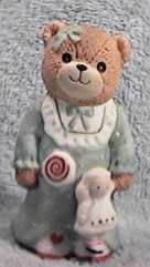 Girl bear in nightgown with lollipop C3-1-4 ***