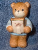 Bear with I Miss You frame figurine G4-1-7 ***