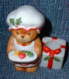 Mrs. Claus Candleholder C1-4-1
