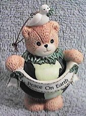 Peace on Earth globe ornament H6-2-4 ^^^box 9^^^