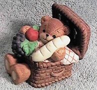 Picnic basket bear G26-4-4