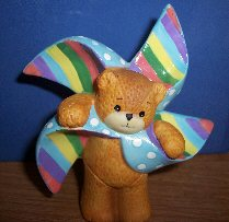 Pinwheel bear G32-2-4 ^^^in box 6^^^