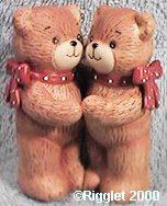Red bow bears hugging G1-2-2 ***