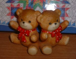 Red bow bears sitting G1-2-3 ***