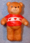 Bear with red heart shirt G1-1-6 ***
