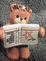 Bear with report card G29-2-4 ^^^in box 2, 7^^^