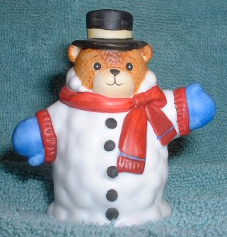 Bear as Snowman C7-3-4 box 11