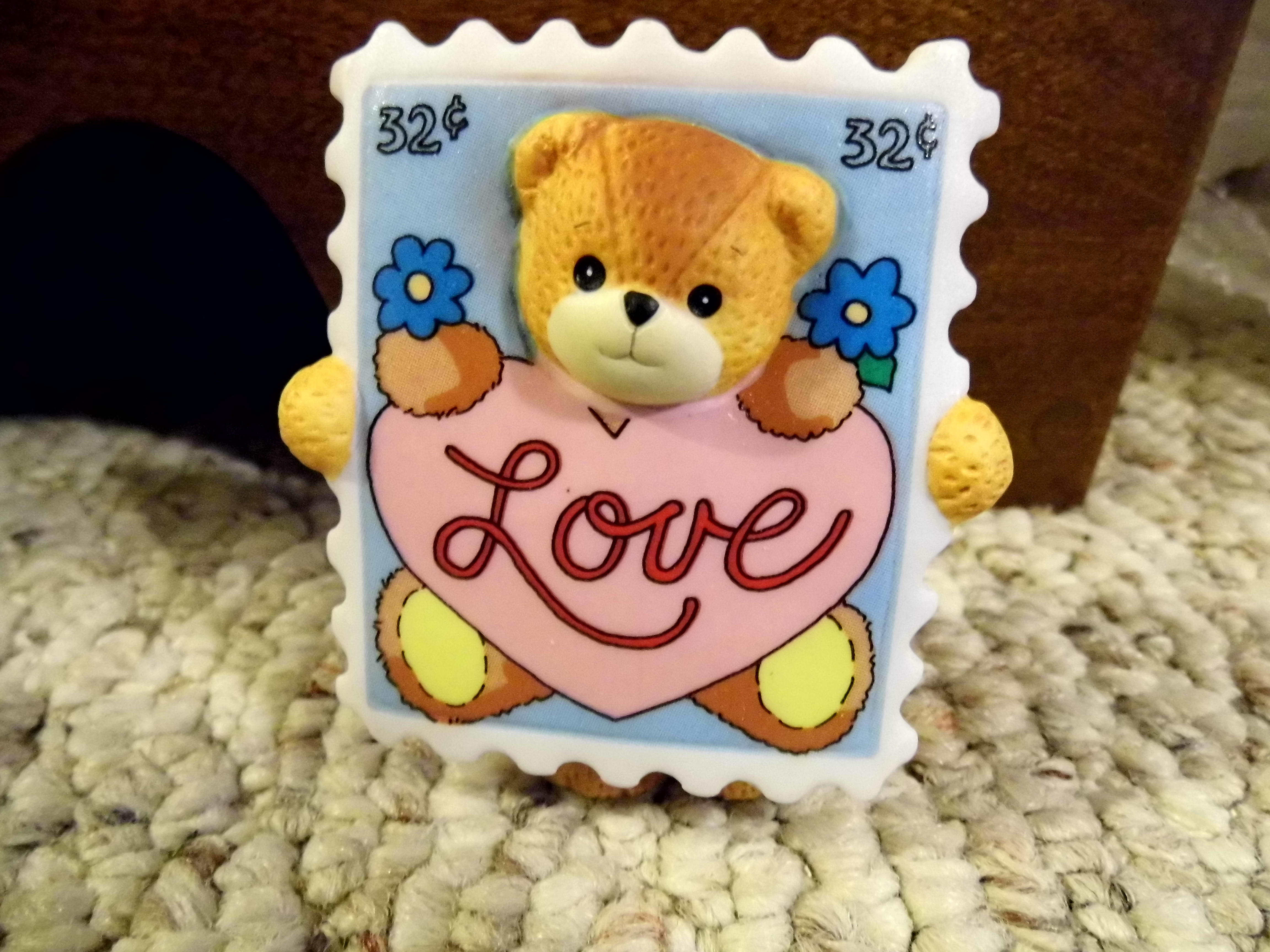 Bear as love postage stamp G30-2-5 ^^^in box 5^^^