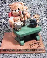 Collector Bears on Table Limited Ed. ^^^box 7^^^ G29-3-6