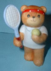Tennis player with headband G3-4-7 &^^^box 7^^^