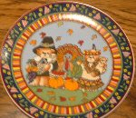 Lucy & Me Thanksgiving Plate