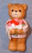 Bear with Thank You bouquet G4-2-1 ***