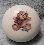 Little bear round trinket box
