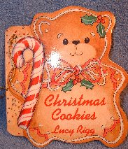 Christmas Cookies book ornament